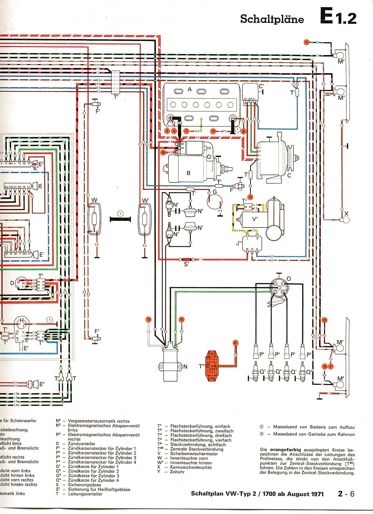 vw wiring diagrams vw type 2 wiring diagram vw type 3 wiring diagram #13