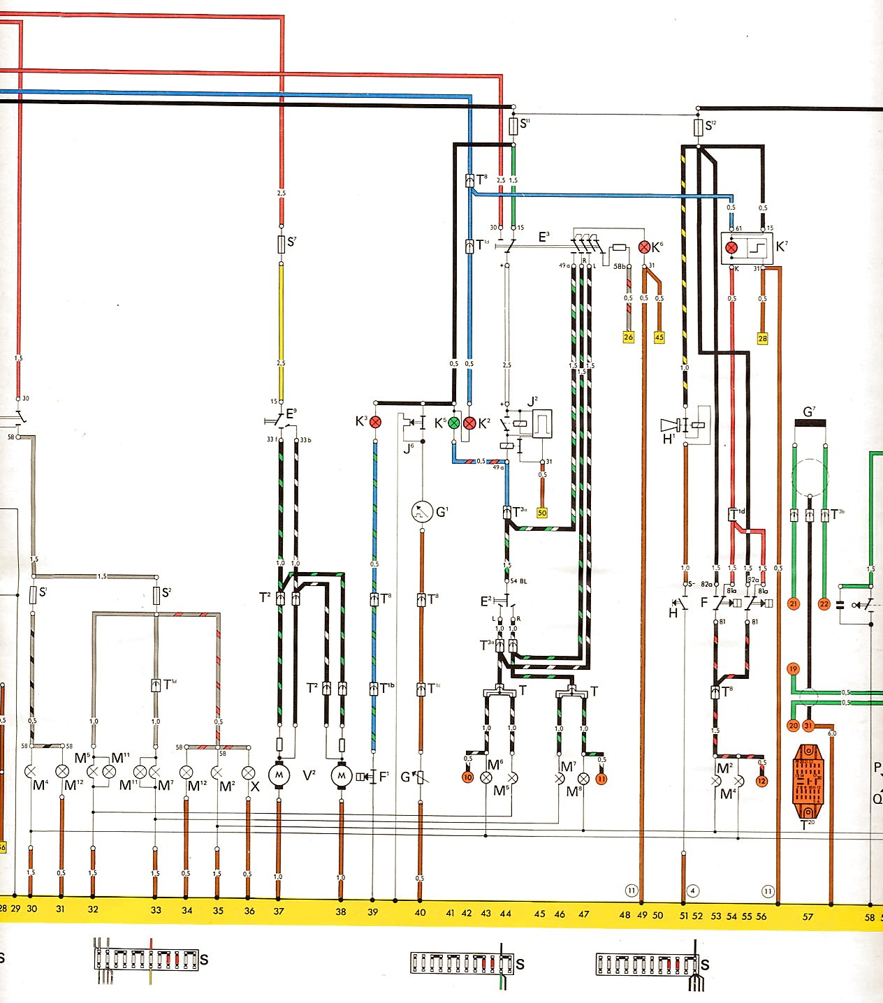 Vw wiring diagrams 1 2 3 4 asfbconference2016 Image collections