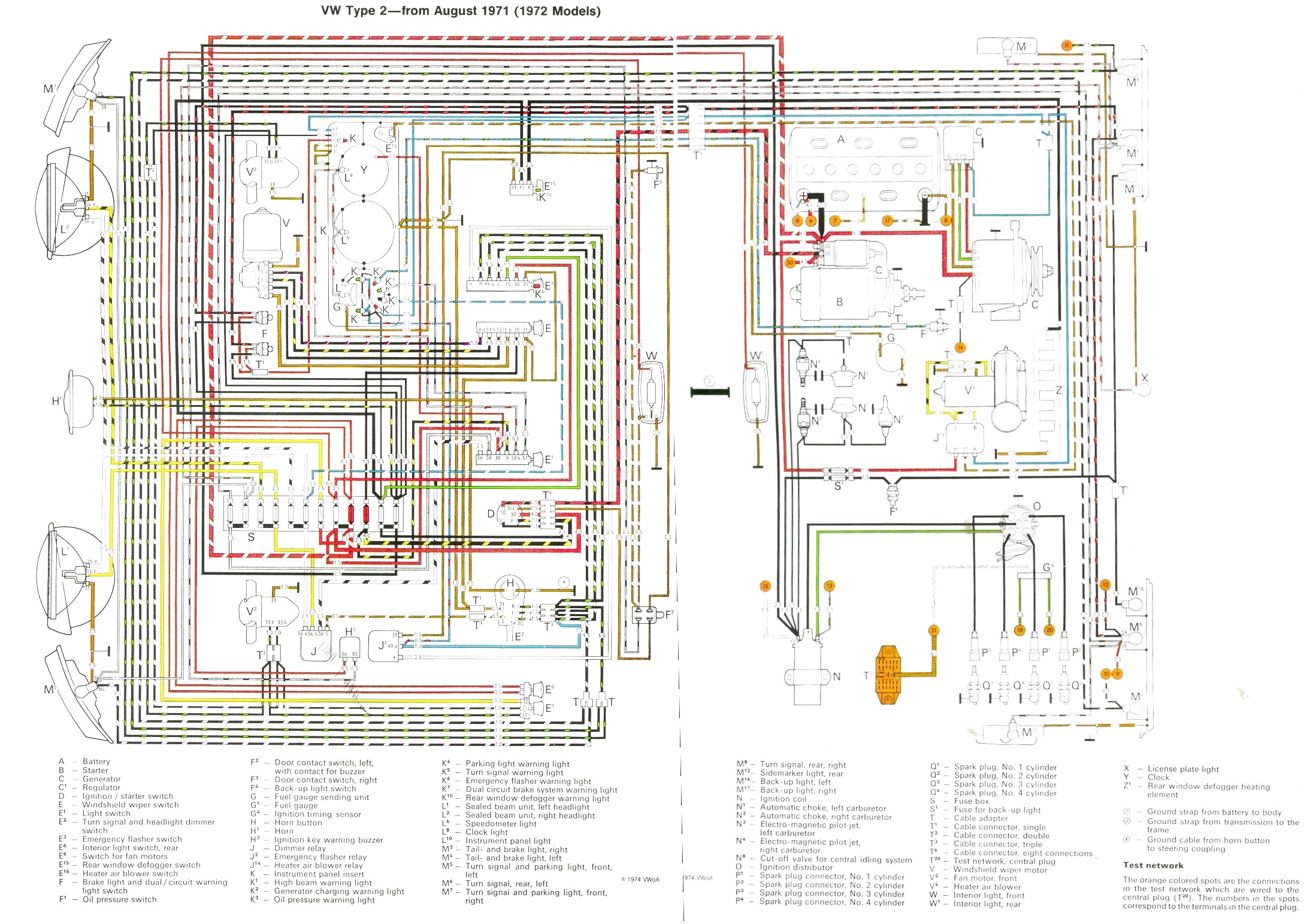 72 vw wiring diagram trusted wiring diagrams u2022 rh sivamuni com air cooled vw alternator wiring diagram